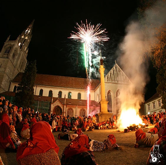 Bild der Verbrennung 2008