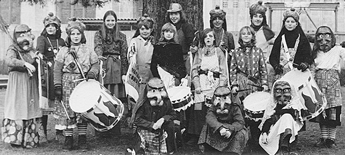 Hexen Zunft Konstanz - die Münsterhexen in den 1970er Jahren